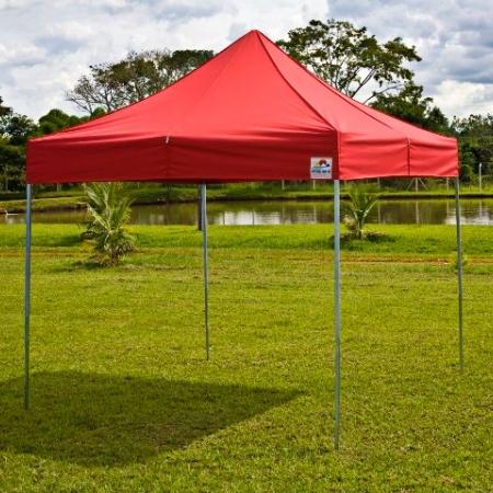 Tenda 3,00 x 3,00 cobertura colorida